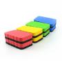 magic sponge eraser ergonomic shape custom mini dry EVA felt magnetic whiteboard eraser blackboard cleaner