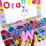 Factory wholesale cheap price personalized magnetic eva foam letters