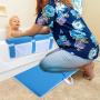 Baby bath tub bath kneeler and elbow rest cushion protection mat