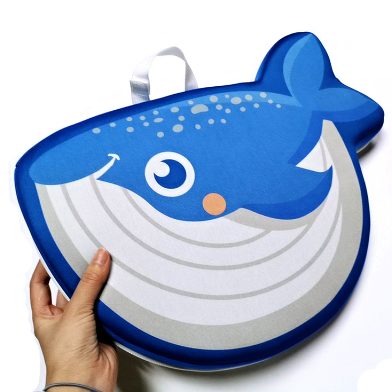 Animal shape customized design neoprene Bath Kneeler and Elbow Rest Set Bath Elbow Saver