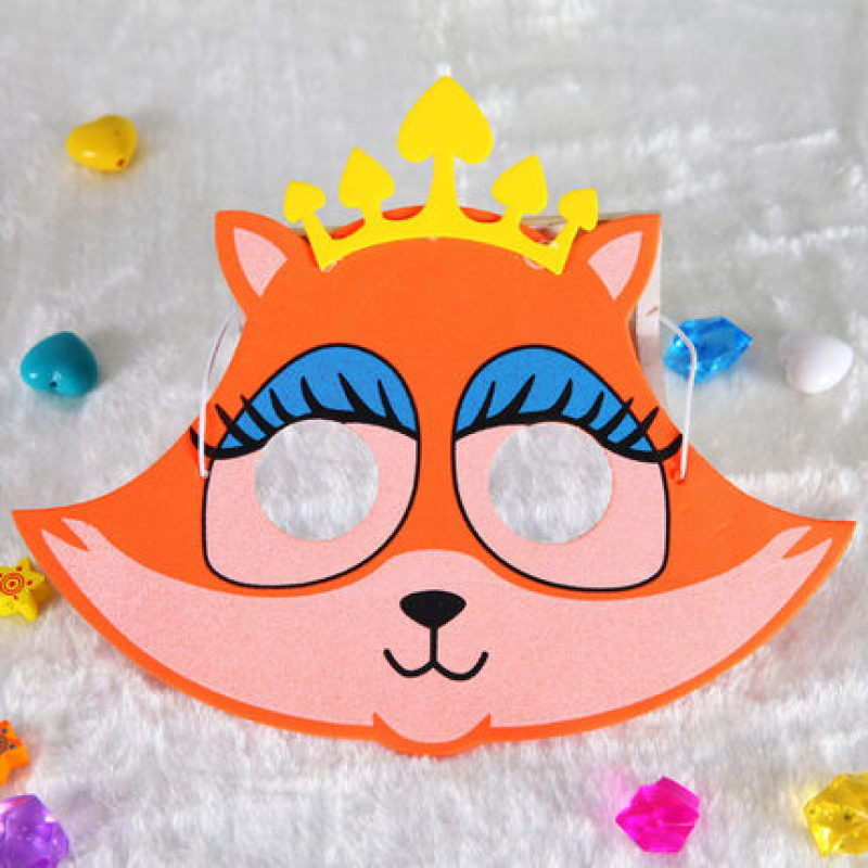 funny foam eva lion mask animal for boys and girls