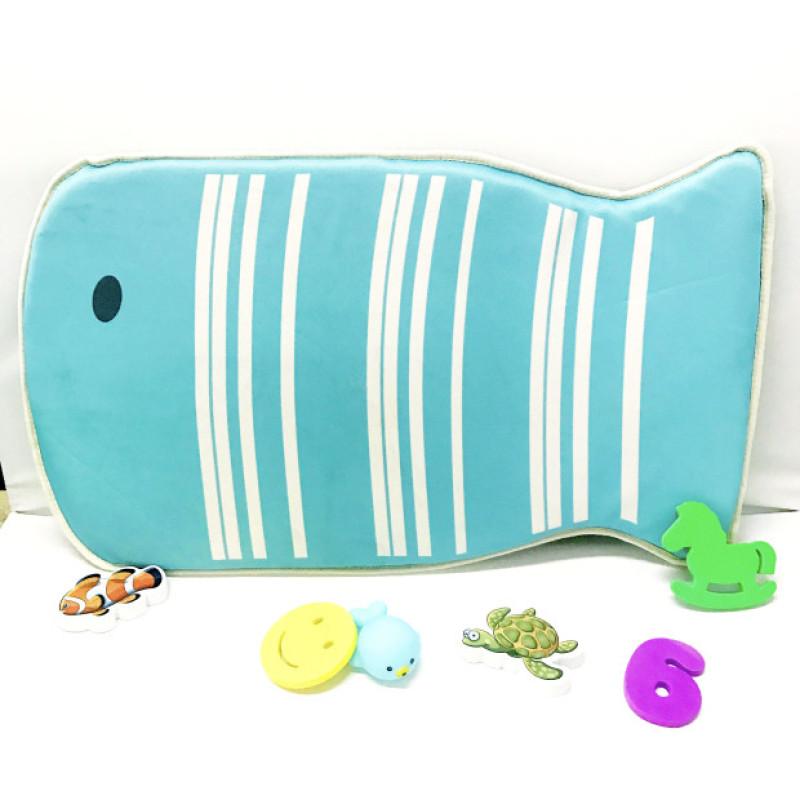 Comfortable wholesale neoprene cartoon printing baby bath mat