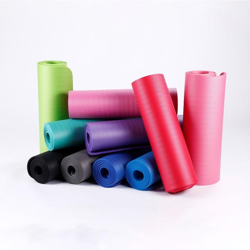 Wholesale multifunctional nbr printed yoga mats  foldable yoga mat