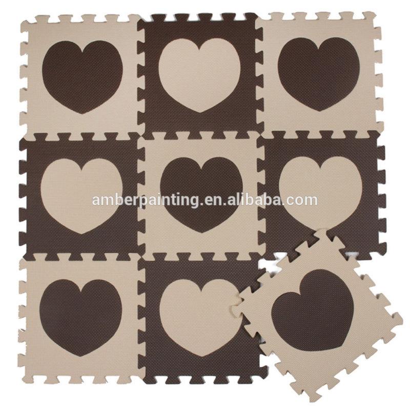 eva jigsaw puzzle custom games math mat kids play office floor mat