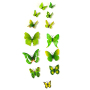Four colors butterfly house wall sticker decor