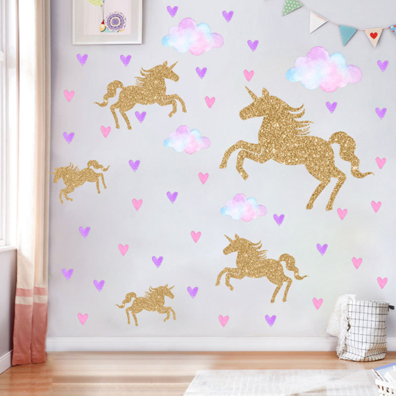 Amazon hot sale decorative decals PVC wall stickers with stars