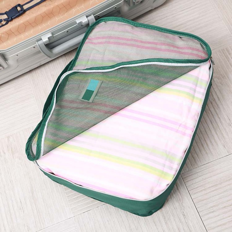 Customized waterproof material luggage organizer packing cube bags