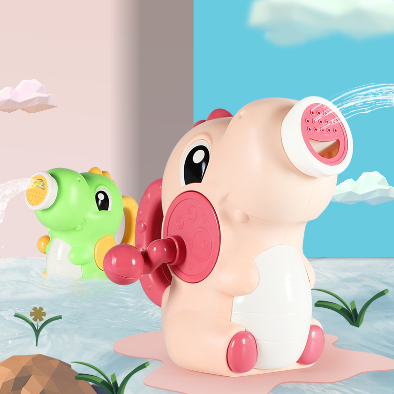 Wholesale dinosaur water gun toys bath toys spray water   funny bath toy