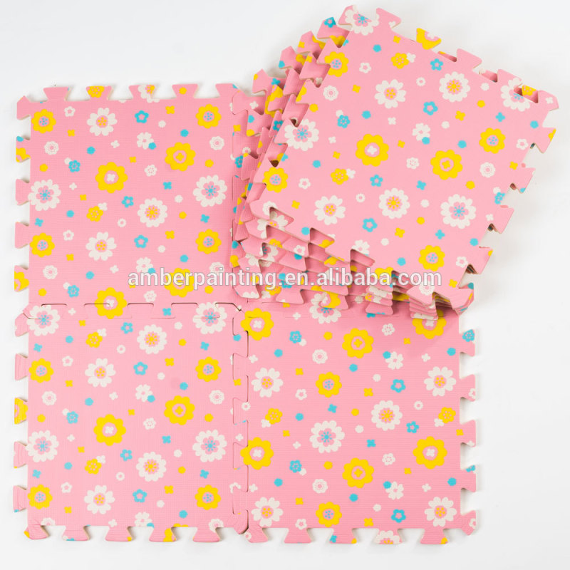 eva baby play comfort coating mat gym new design colorful mat