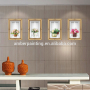 New Style wall decals flower vase herbs home decor design