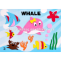 DIY custom eva toys educational kids foam sticker sheet