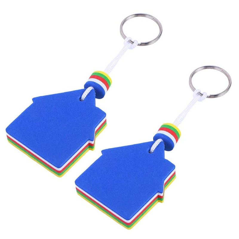 2018 hot sale Cheap promotional gift floating EVA foam keychain