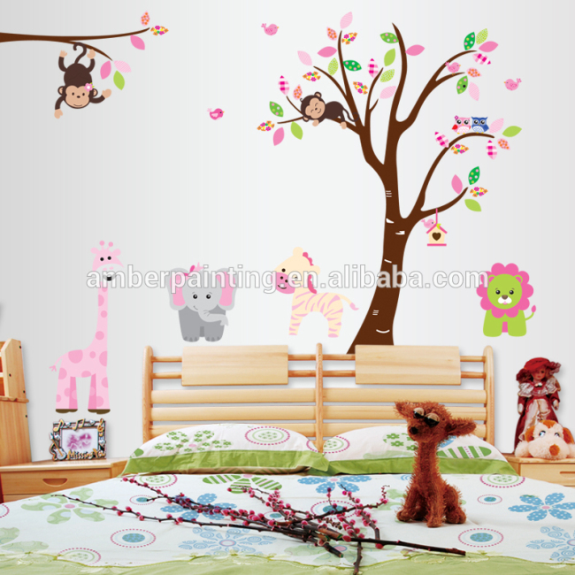 School chalkboard wall stickers corner wall stickers