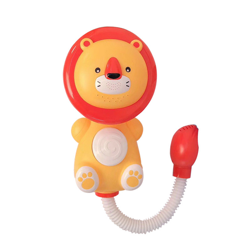 Animal electric shower assist baby in bathing toddler bath swimming toys  splash bath toy
