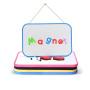 Educational children writable magnet toy whiteboard customize