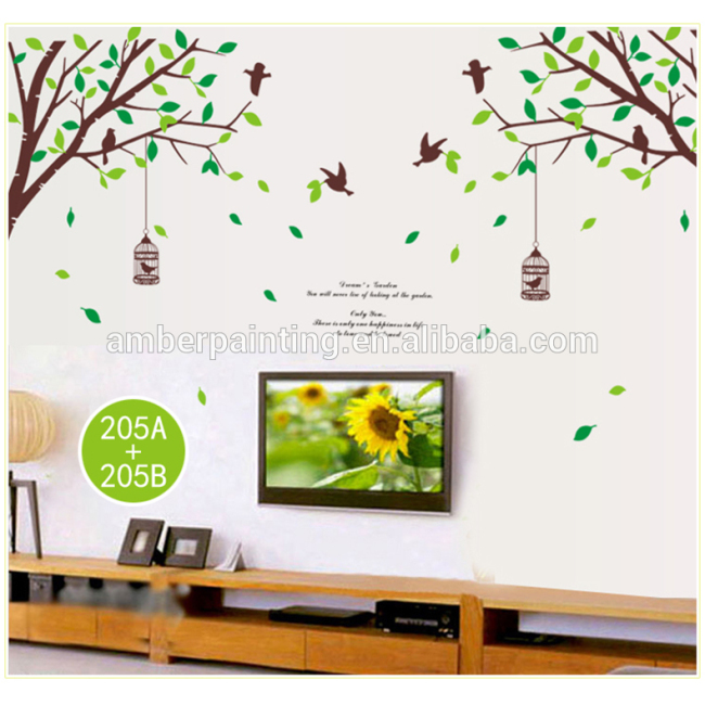 School or office wall stickers wall lamp sticker