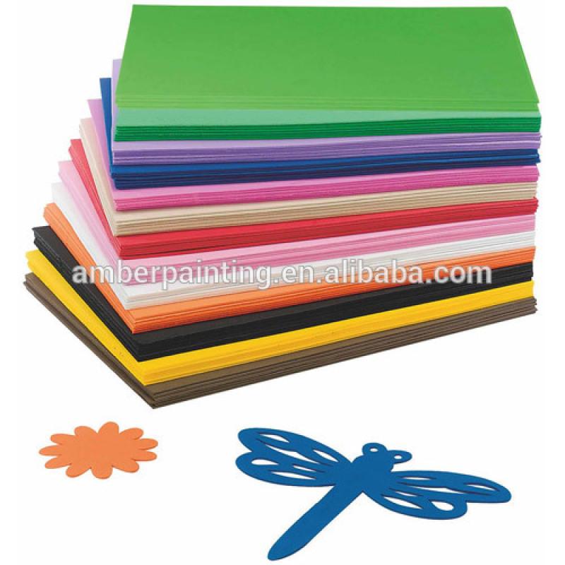 Multicolor foam craft 2mm thick eva foam sheet