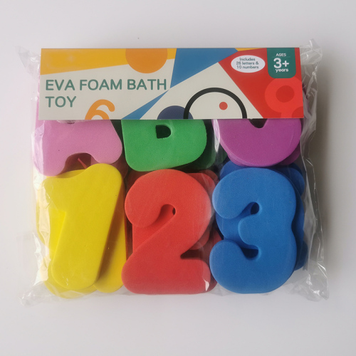 Eva Foam Bath Toy Numbers Letters/ Baby Bath Toys