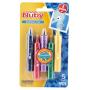 eco-friendly washable color crayon kids set plastic crayon holder for children