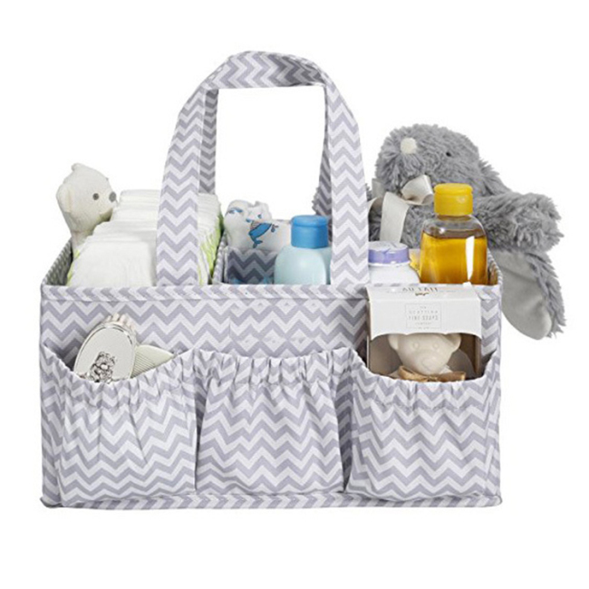 Hot sale diaper caddy and nursery organizer