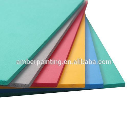 High Density waterproof multicolor pvc foam sheet