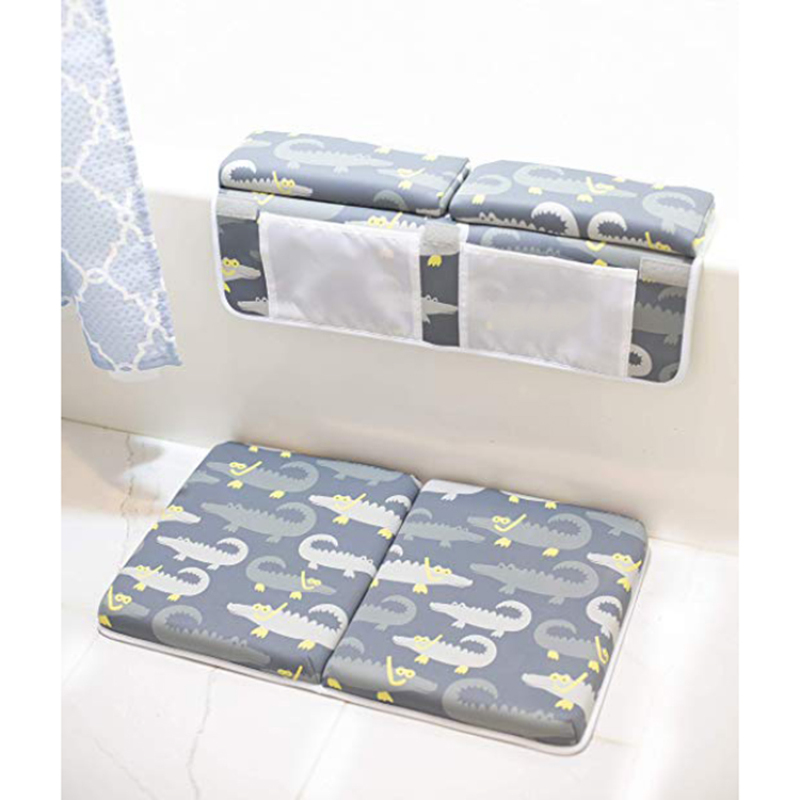 New arrival design neoprene non slip baby bath tub mat