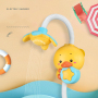 Wholesale baby bathroom rain cloud bath toy squirt head   bath toy squirt head