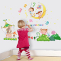 boys toddler happy childhood wall decals quotes DIY home decoration