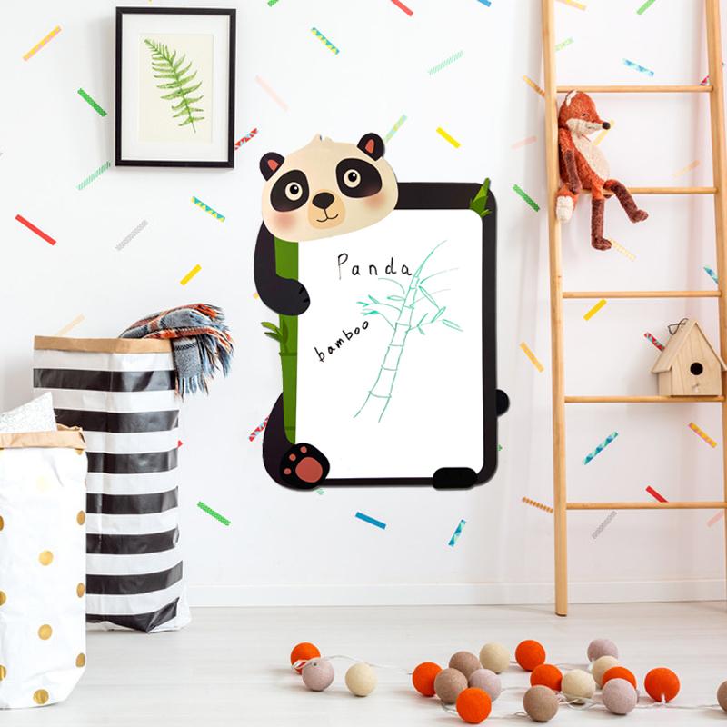 Custom 2020 new Lovely animal magnetic drawing board kids writing board