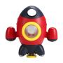 Custom bathroom toy water spray rocket bath toys spray water   bath toy interactive  rocket ship bath toy