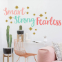 Hot sale letter and word decals PVC wall stickers for bedrooms