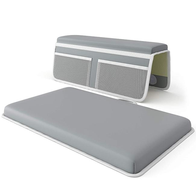 Eco-friendly foldable baby non slip bath tub mat