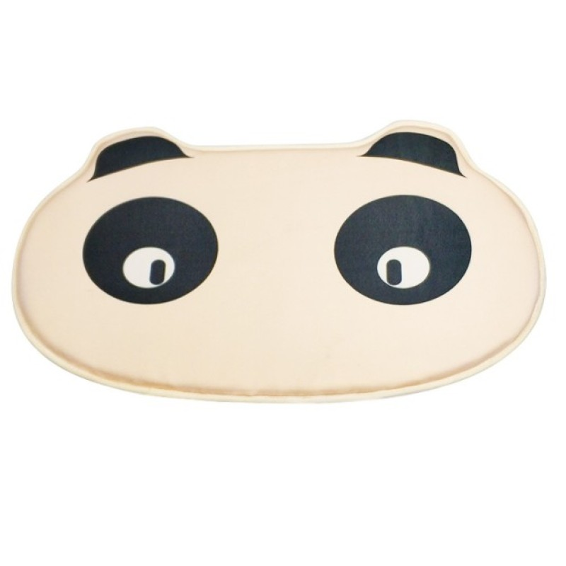 Comfortable unfoldable neoprene panda cartoon baby bath kneeler pad A313