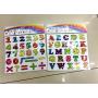 Educational alphabet magnetic eva foam sticker for kids