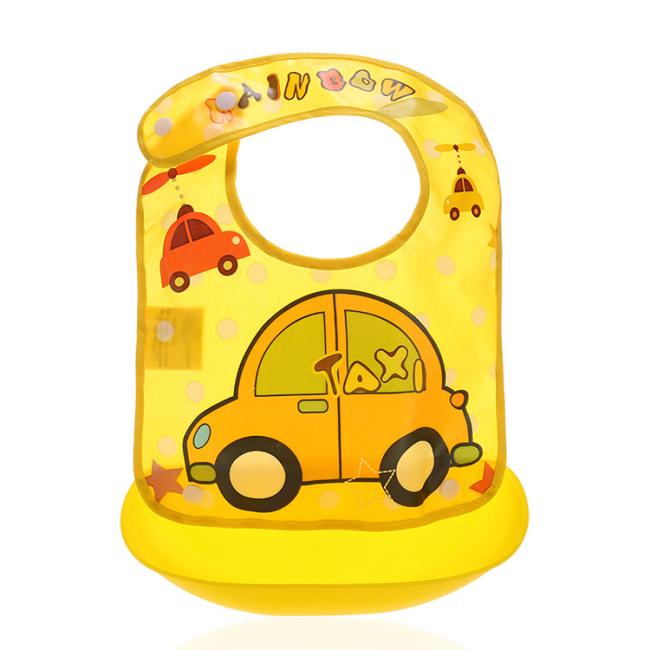 Wholesale silicone baby waterproof bib for kids
