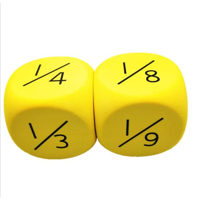 Factory custom OEM ODM foam dice Large particles