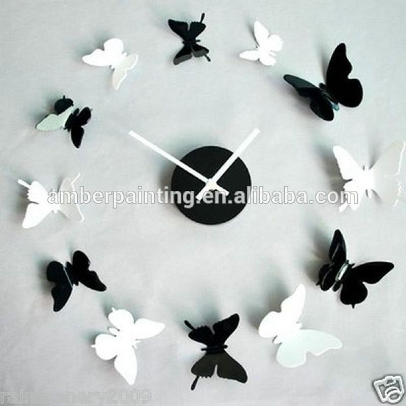 Custom Self Adhesive 3D Butterfly Wallsticker For Home Decoration