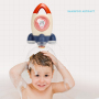 plastic bath toy holder  rocket ship bath toy