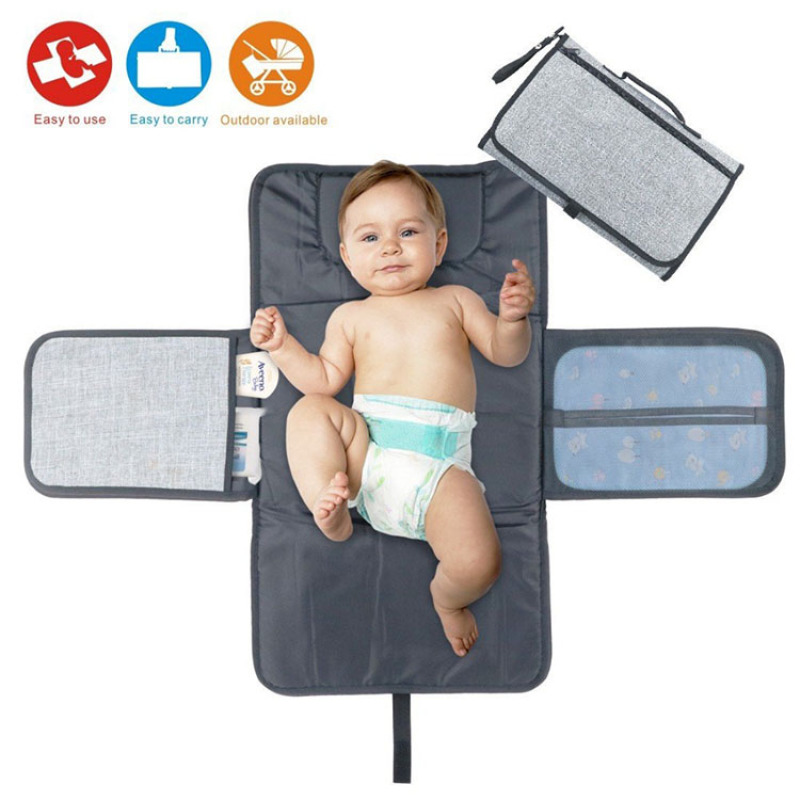 Hot sale portable baby diaper changing pad