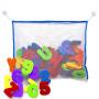 baby EVA foam letter&number educational bath toy set