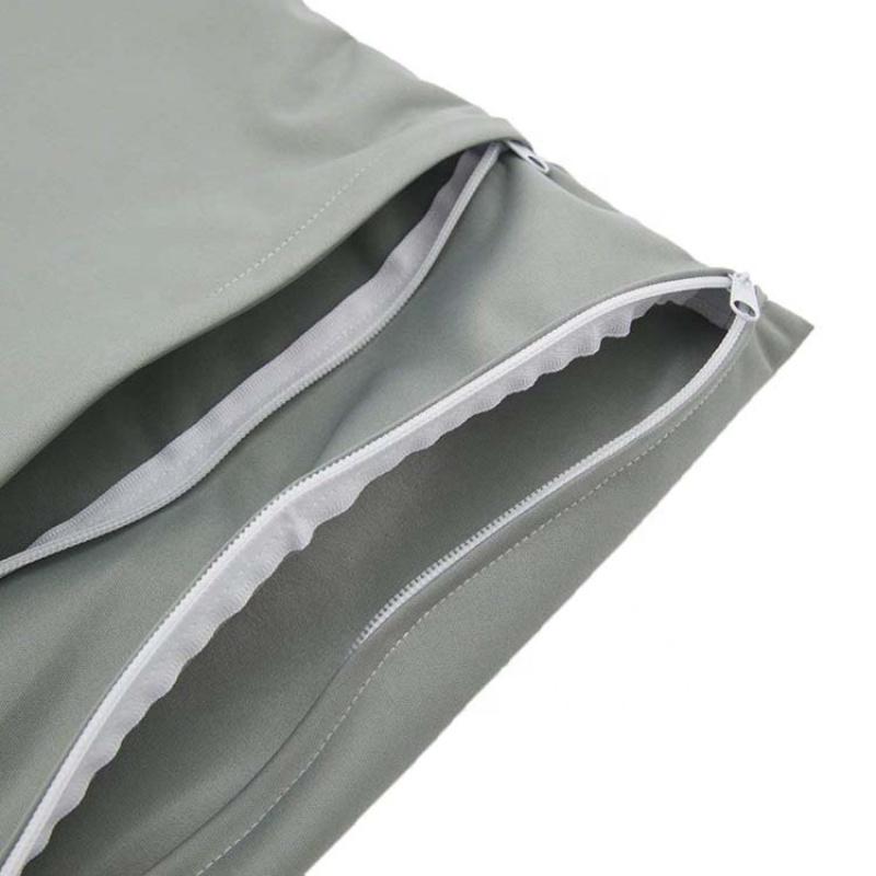 Nordic style organizer diaper baby wet waterproof hanging  bag