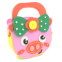 Baby diy eva bag hand make bag gifts and crafts new toys for kids