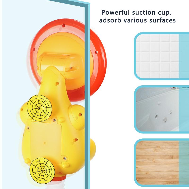 OEM animal-shaped shower spray water bath toys baby shower water spray bath toy squirt head   bath sprinkler toy