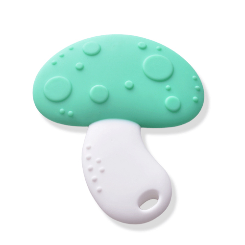Eco-friendly new food grade silicone teether for baby soft teething toy