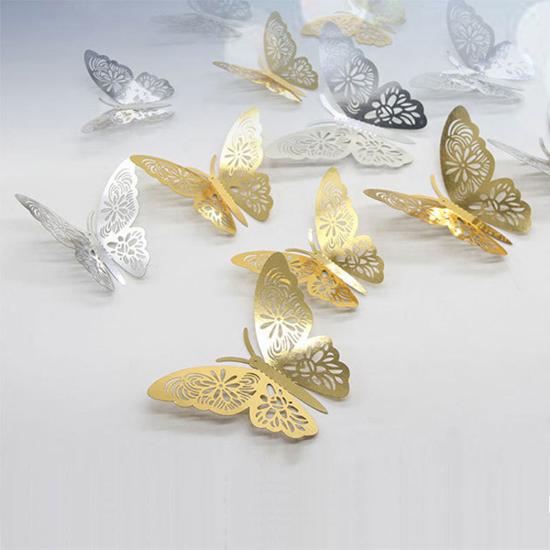Amazon hot sale butterfly PVC wall sticker for decoration