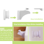 High quality baby safety lock baby safety cabinet lock magnetic lock  baby safety locks set