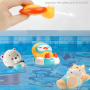 Wholesale baby animal bath  mini bath tub toy  small bathing toys for kids