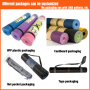 Customized wholesale high quality organic yoga mat cleaner suede yoga mat