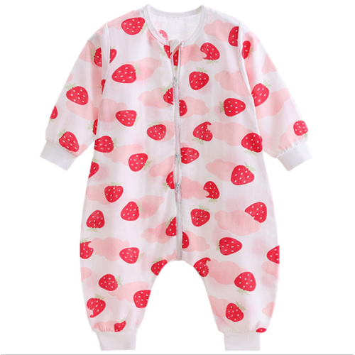 Baby sleeping bag summer 100% Cotton clothing sets for babies ready to ship ODM service