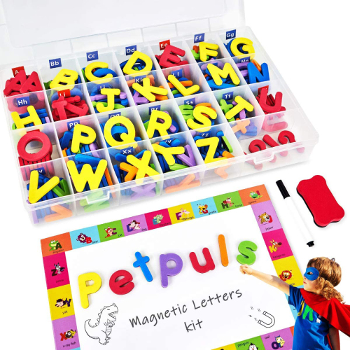 New Diy Kits EVA Magnetic Alphabet Educational Toys with white board